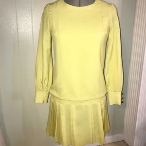 Dresses & Skirts - Authentic Yellow Vintage Dress from the 60-70s
